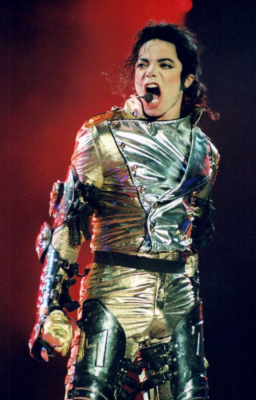 Michael Jackson in concert, Vienna, Austria - 1997