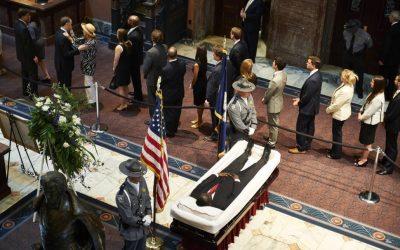 CHARLESTON CHURCH SHOOTING: THE ROVING BODY OF REV. CLEMENTA PINCKNEY