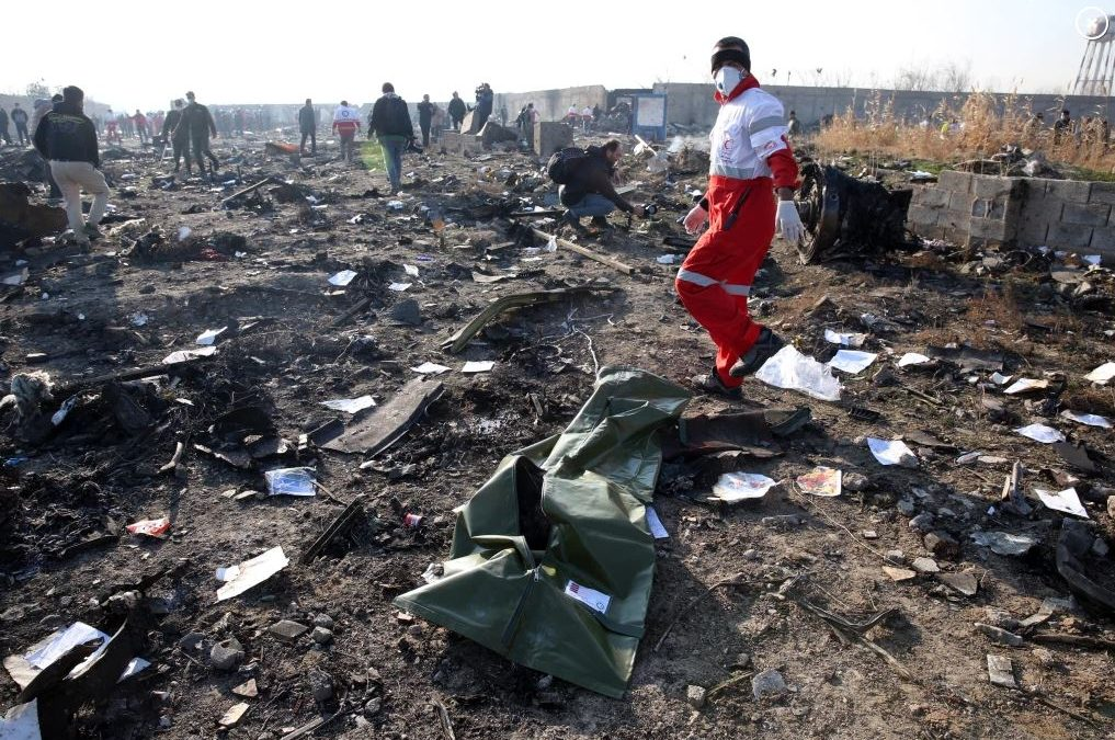 THE STRANGE CRASH OF UKRAINIAN FLIGHT #752 IN IRAN